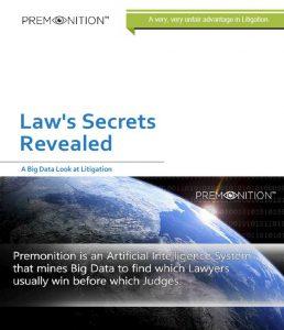 Law's Secrets Revealed