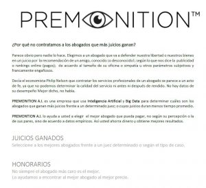 Resumen Ejecutivo de Premonition AI (Spanish)