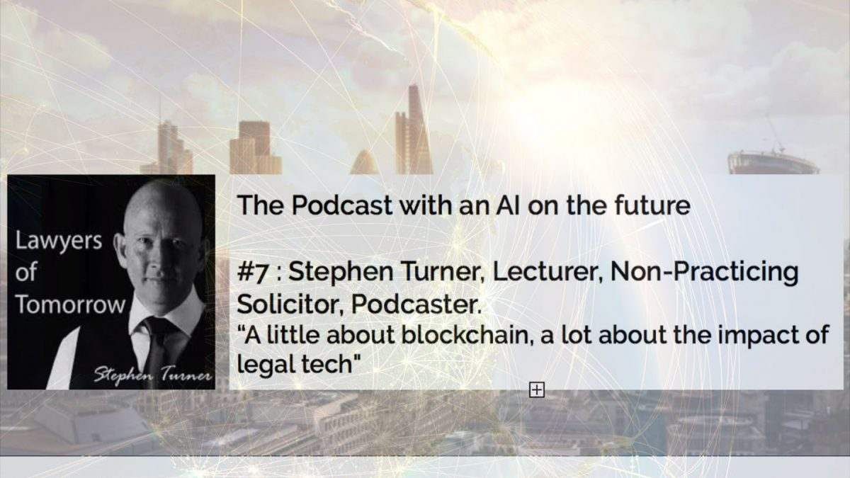 Podcast With Stephen Turner