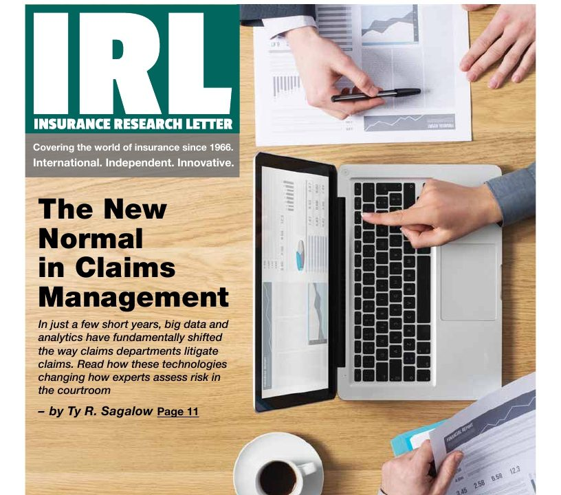 Insurance Research Letter, the New Normal in Claims Management